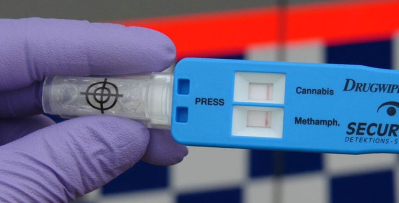 Тест на наркотические вещества